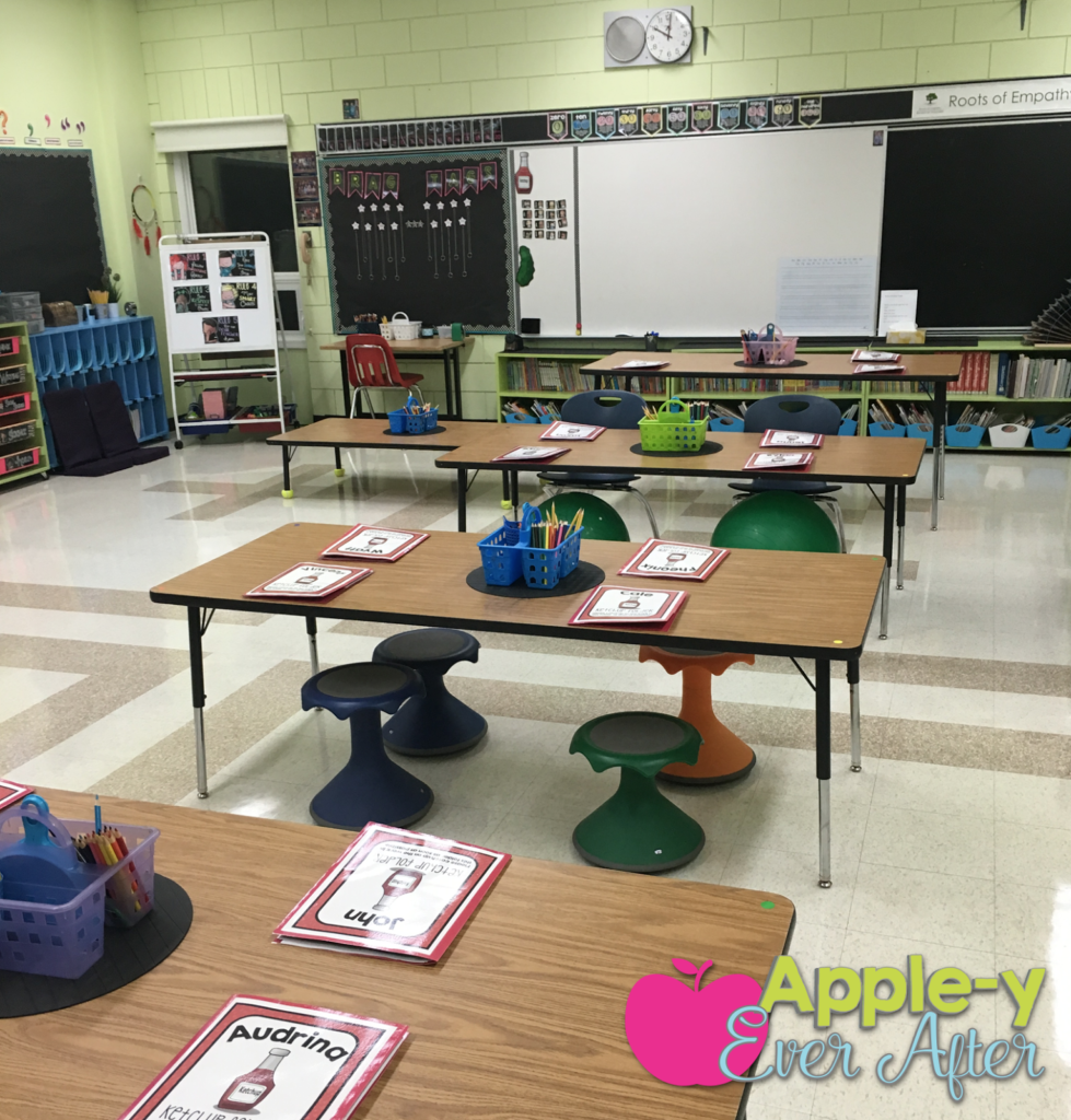 flexible seating in my classroom