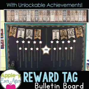 Wooden Fun Reward Tags with Unlockable levels.